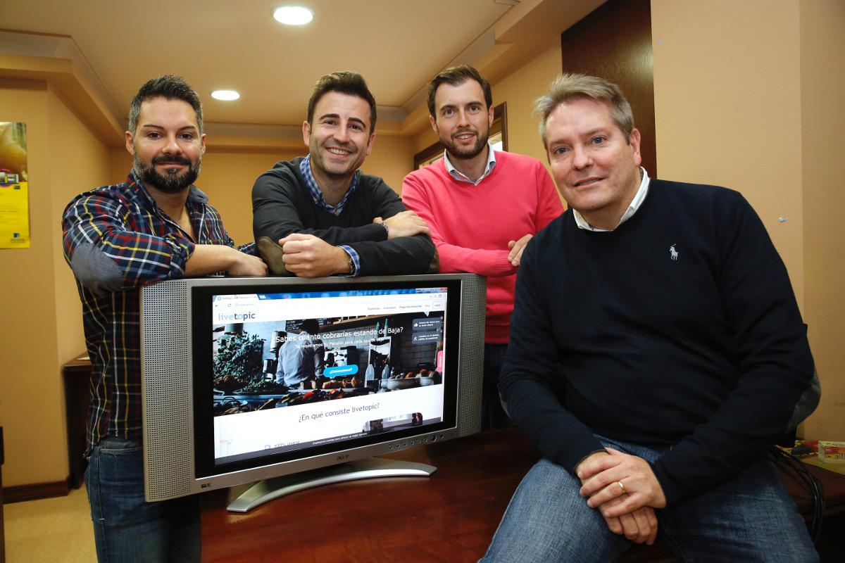 A galega Livetopic pecha rolda de financiamento de 100.000 euros
