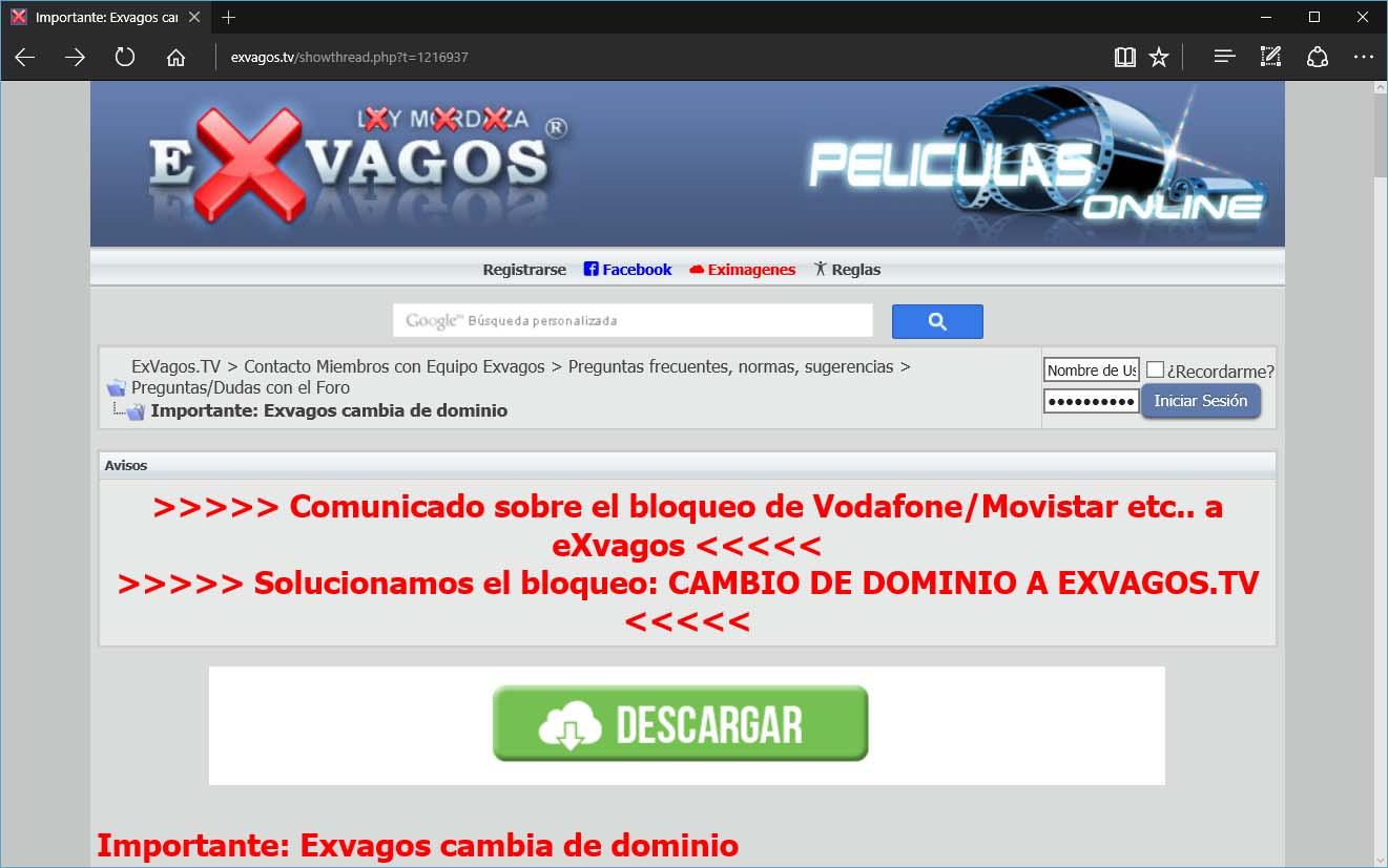 A Comision Sinde Emprende Medidas Contra Goear E Exvagos Codigo Cero Diario Tecnoloxico De Galicia Comunidad de descargas directas exvagos.net. codigo cero