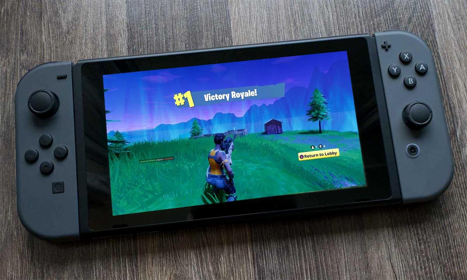 Non haberá que pagar para xogar a Fortnite en Nintendo Switch