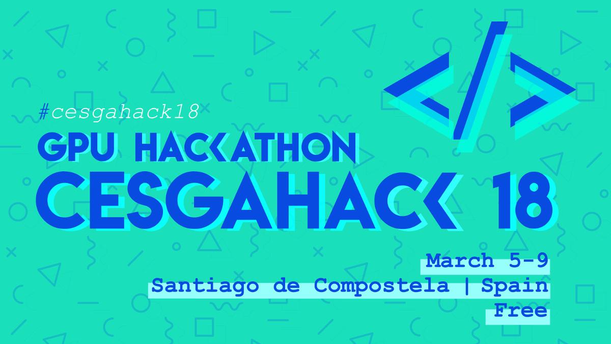 O GPU Hackaton do CESGA e Appentra recunca en marzo