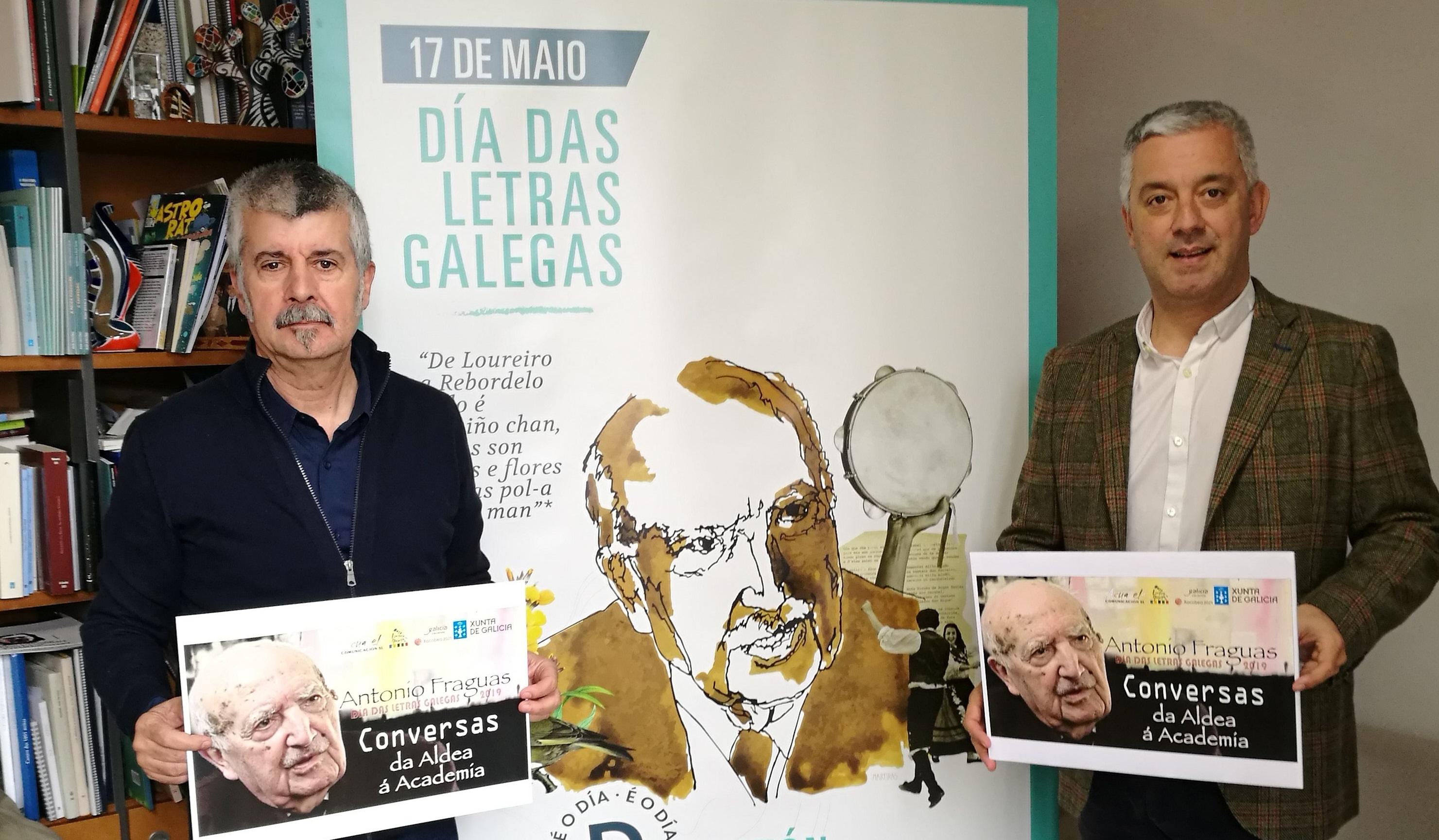 O Portal da Lingua conmemora o 17 de maio cunha ducia de vídeos con Antón Fraguas