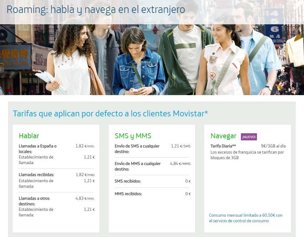 Movistar reduce o prezo para gozar de datos móbiles en Andorra