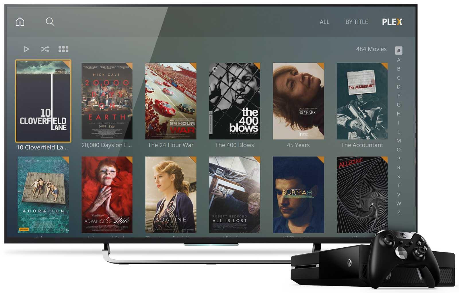 Plex permite gozar de contidos HDR en Xbox One