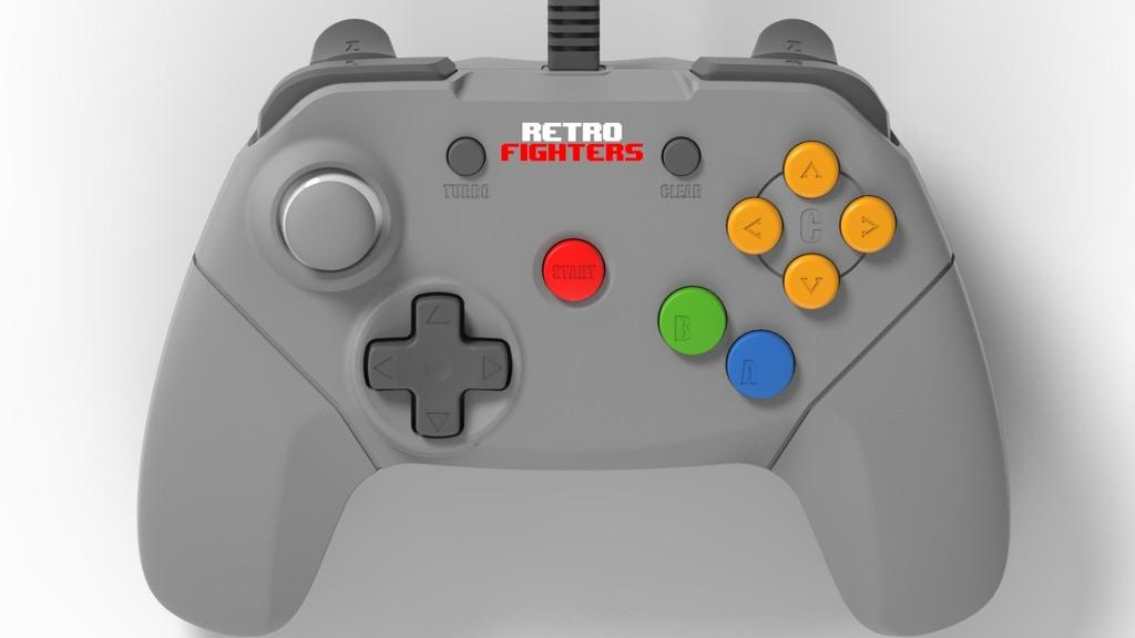Un proxecto de Kickstarter mellora a ergonomía do mando da Nintendo 64