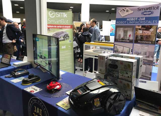 Os produtos de Smartbot poden verse nas JAI 2018