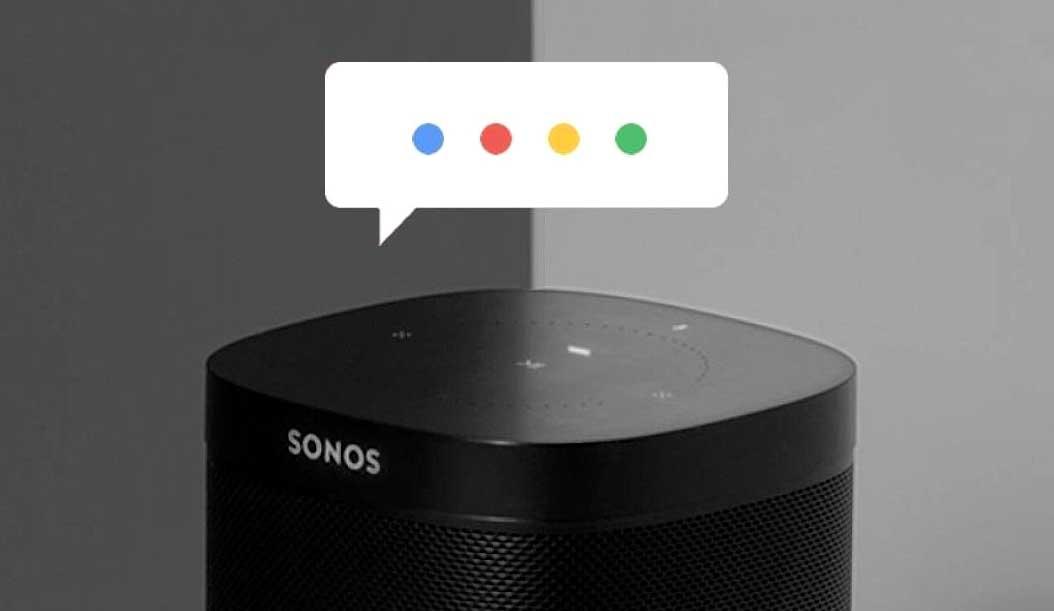 O Asistente de Google chega aos altofalantes de Sonos