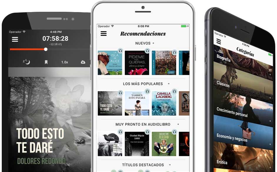 Storytel chega como un Spotify de audiolibros